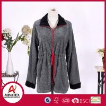 Buy cheap New Design Most Popular Melange Yarn Grey Coral Fleece Bathrobe from wholesalers