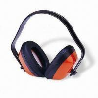 Buy cheap Hearing Protection Earmuffs, Made of POM Headband, ABS Cup, and Soft PVC Leather from wholesalers
