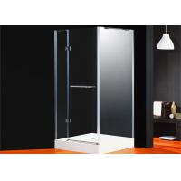 Buy cheap Corner Frameless Shower Enclosures Square Folding Glass Door For Bathroom from wholesalers