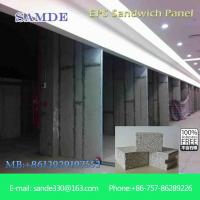 Buy cheap Fiber cement process sandwich composite wall panels with waterproof 2440*610*75mm from wholesalers