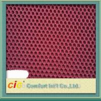 Buy cheap 100 Polyester Mesh Fabric / 3d Air Mesh Fabric For Motorcycle Seat Cover , 140-150cm Width product