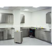 Buy cheap Silver Stainless Steel Lab Tables , Modular Lab Benches DTC Hinge 1500*850mm from wholesalers