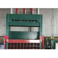 Buy cheap Clothes Waste Paper Vertical Baling Machine / Vertical Hydraulic Balers from wholesalers