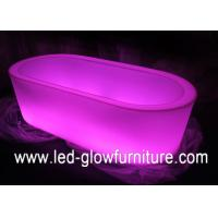 Buy cheap Multi color change Rectangular funky LED Ice Bucket for wine or fruit holder from wholesalers