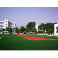 Buy cheap Not Distortion Green Artificial Turf  / Lwan Sports for Volleyball / Basketball Courts from wholesalers