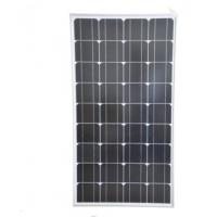 Buy cheap 100W Siliver Corrugated Solar Power Panels , Mono Silicon Solar Panels For Outdoor Use from wholesalers