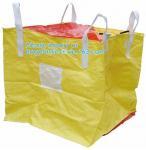 Buy cheap Polypropylene Woven FIBC Jumbo Bags , Plastic Jumbo Bag Building Material FIBC Bulk from wholesalers