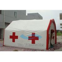 Buy cheap Movable Inflatable Rescue Tent Emergency Shelter Medical Air Inflated Tents from wholesalers