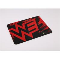 Buy cheap Fashionable Rectangle Gaming Mouse Pads Customized Mouse Mats With Logo from wholesalers
