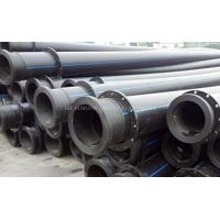 Buy cheap HDPE dredge pipe HDPE dredging pipe HDPE pipes with stub flanges and floaters from wholesalers