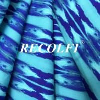 Buy cheap Printing Color Warp Knitted Fabric , Yoga Pants Material Premium Stretch Fiber from wholesalers