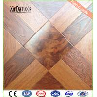Buy cheap ac3/4/5 hdf water resistant waxed parquet laminate flooring from wholesalers