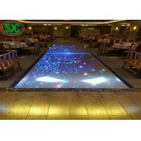 Buy cheap SMD3528 light up dance floor 320x160mm led module , 960 x960mm led cabinet from wholesalers