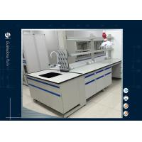 Buy cheap Temperature Resistant Modular Laboratory Furniture , Island Bench  Metal Laboratory Cabinets from wholesalers