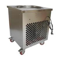 Buy cheap Round Pan Thai Rolled Ice Cream Machine / Fried Ice Cream Maker Eco Friendly from wholesalers
