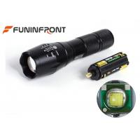 Buy cheap CREE XPE Q5 Zoom LED Flashlight Handheld, 5W Portable Outdoor Camp Lanterns from wholesalers