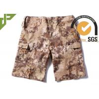Buy cheap Ripstop Men's Tactical Cargo Pants , Tactical Short Pants Polyester / Cotton Material from wholesalers