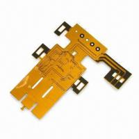 Buy cheap Single-sided Flexible PCBS FPC with FR4 Stiffener  from wholesalers