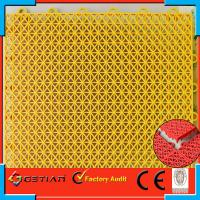 Buy cheap Indoor Soccer Flooring , Portable Basketball Court Flooring Injection from wholesalers