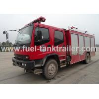 Buy cheap A Type Foam Fire Rescue Vehicles Isuzu Superior Structure Strong Firefighting Ability from wholesalers