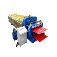 Buy cheap 1250 mm Galvanized Sheet Roll Forming Machine 5.5kw Power , Tile Steel Making Machine from wholesalers