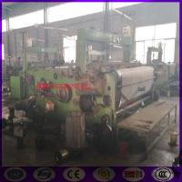 Quality stainless steel coarse mesh ,big wire weaving machine from China for sale