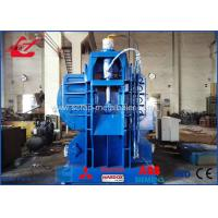 Buy cheap High Capacity Stationary Light Metal Mobile Baler Car Chasis Baling Press Logger from wholesalers