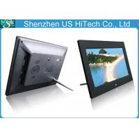 Buy cheap USB / SD / Mini USB 10 Inch Digital Photo Frame , Family / Office Electronic Picture Frame from wholesalers