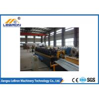 Buy cheap 8 Tons C Z Purlin Roll Forming Machine / Steel C Channel Bending Machine PLC System from wholesalers