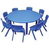 wholesale price plastic round table and chairs for. Black Bedroom Furniture Sets. Home Design Ideas
