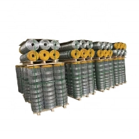 Buy cheap Animal Feeding Carbon Steel 200M Woven Field Fence from wholesalers