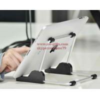 Buy cheap For apple iPad stand Aluminum foldable universal tablet Stand,Holder for apple ipad stand for samsun tablet,tablet mount from wholesalers