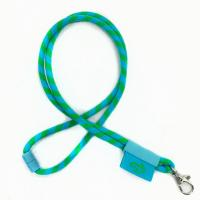 Buy cheap Custom Cheap Factory Price Colorful ID Card Round Rope Neck Lanyards Wholesale from wholesalers