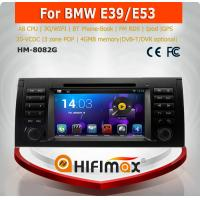 Buy cheap HIFIMAX Android 4.4 car dvd player for BMW 5-E39/BMW X5-E53 WITH Capacitive screen 1080P 8G ROM WIFI 3G DVR SUPPORT from wholesalers