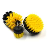 Buy cheap Grout Cordless PP Bristle Drill Brush , Power Drill Scrubber Plastic / Steel Base Brush from wholesalers