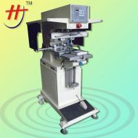 Buy cheap HP-160BYN Pneumatic precision 2 color ink cup tshirt label printing machine from wholesalers