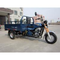 Buy cheap Gasoline Motorized Cargo Tricycle / 150CC Air Cooling Three Wheel Cargo Motorcycle from wholesalers