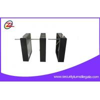 Buy cheap Black Paint Barcode Reader Tripod Turnstile Gate For Pedestrian Control from wholesalers