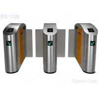 Buy cheap RFID Reader Optical Turnstile Security Systems High Speed Barrier Sliding Gate from wholesalers