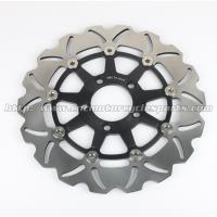 Buy cheap Wave Aluminum Floating Motorcycle Brake Disc Rotor For Street Bike Parts product