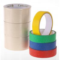 Buy cheap Hot Melt self Adhesive masking tape from wholesalers
