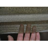 Buy cheap Golden Colour Welded Chainmail Cutting Glove For Safety , Chainmail Kitchen Glove from wholesalers