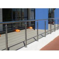 China Customized 316 Stainless Steel Outdoor Cable Railing System For Deck on sale