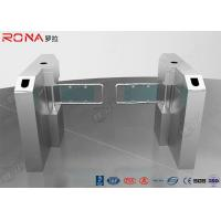 Buy cheap Glass Swing Gate Turnstile Access Control System 30 Persons / Min Transit Speed product