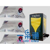 Buy cheap Aseptic BIB Empty Wine Box Bags In Fluids Packing Bag In Box 1 Liter 20L50L 220L product