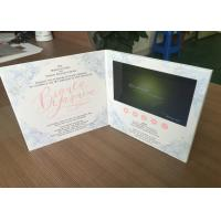 Buy cheap Creative Video in print technology 7inch HD lcd screen video brochures video invitation card video greeting card from wholesalers