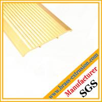 Buy cheap copper alloy floor Non slip Tread Inserts profiles from wholesalers