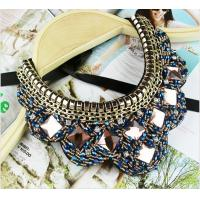 Buy cheap TP-N1 Jewelry Rhinestone Bead statement necklace Jewelry Necklace for Costume from wholesalers