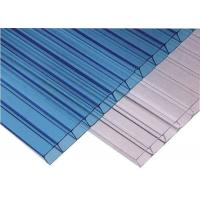 Buy cheap Car Parking Roof Twin Wall Hollow Sheet Polycarbonate Sheet High Light Transmission from wholesalers