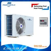 Buy cheap Mini Size Efficient Swimming Pool Air Source Heat Pump Varmepumpe from wholesalers